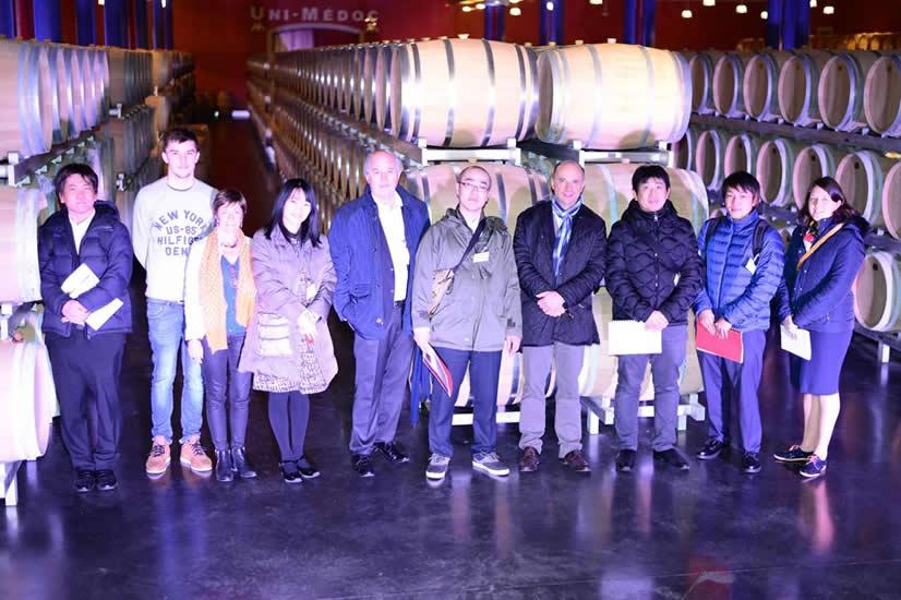 ボルドーを代表する赤ワインの銘醸地メドックに行きました。